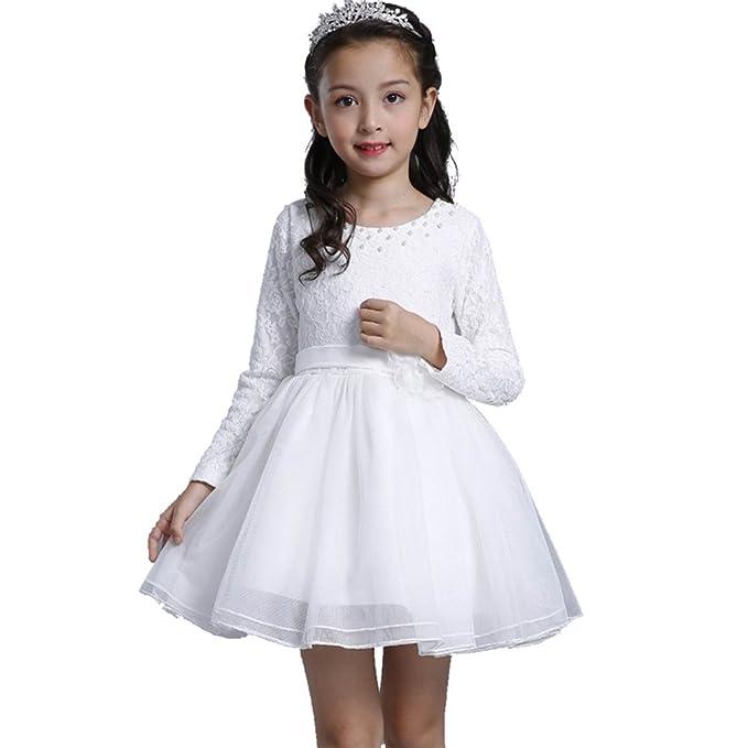 BOZEVON Otoño Invierno Traje del Vestido/Traje de Princesa Vestido Infantil Disfraz de Niñas para
