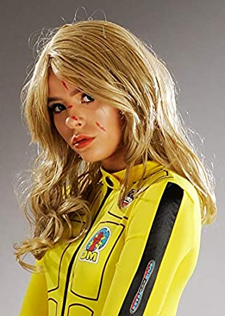 Magic Box Peluca Rubia Estilo Kill Bill Style para Mujer: Amazon ...