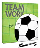 Canvas Kudos ''Sports Soccer'' Decorative Sign, 36 by 36-Inch