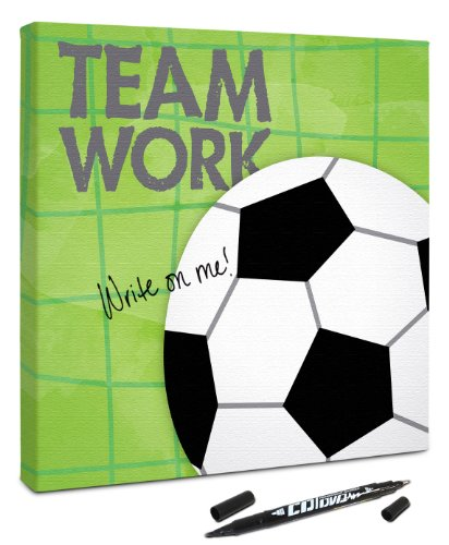 Canvas Kudos ''Sports Soccer'' Decorative Sign, 36 by 36-Inch by Canvas Kudos