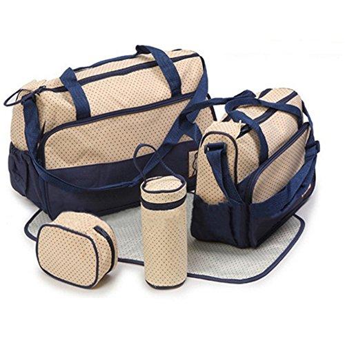 5-pcs-baby-diaper-tote-bag-kids-pad-nappy-changing-shoulder-bottle-handbag-backpack-travel-shopping-