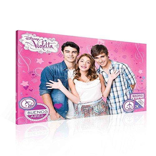 Ready to Hang Canvas Wall Art - Disney Violetta Cute Guys Tomas Leon Friends Music Travel - XXL - 39