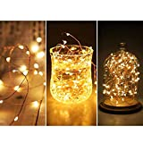 Twinkle Star 200 LED 66 FT Copper String Lights