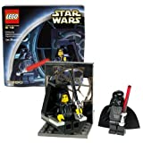 Lego Year 2002 Star Wars Battle Scene Set #7200 - FINAL DUEL I with Throne Chair Plus Emperor Palpatine and Darth Vader Minifigures (Total Pieces: 29)