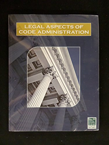 Legal Aspects of Code Administration (Item Code)