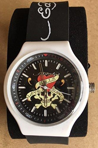 Ed Hardy Men's NE-BK Neo Black Watch
