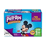 Learning Designs Pull-Ups for Boys - The Most Absorbant Huggies Training Pant (Size 2T-3T: 124ct, 18-34lbs)
