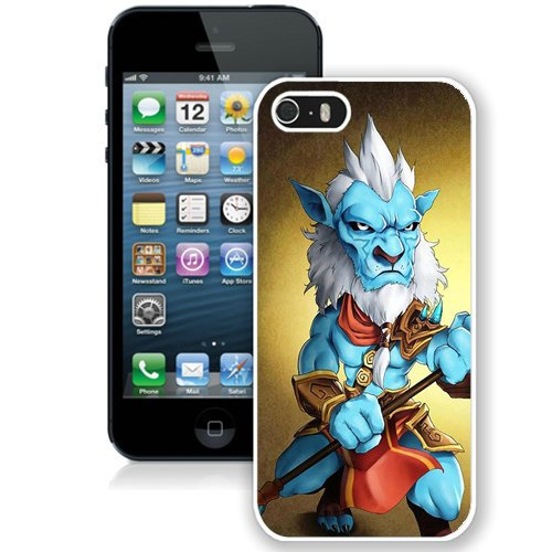Coque,Fashion Coque iphone 5S Dota 2 Phantom Lancer blanc Screen Cover Case Cover Fashion and Hot Sale Design
