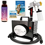 Belloccio Salon Pro Plus T200-11, 2 Stage Turbine Sunless HVLP Spray Tanning System; Free 4 oz. Belloccio Opulence Tanning Solution & Video Link