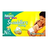 Pampers Swaddlers Diapers, Newborn, 84-Count