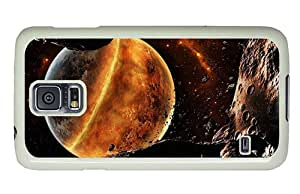 Diy Samsung shop covers Red planet in the universe PC White for Samsung S5,Samsung Galaxy S5,Samsung i9600