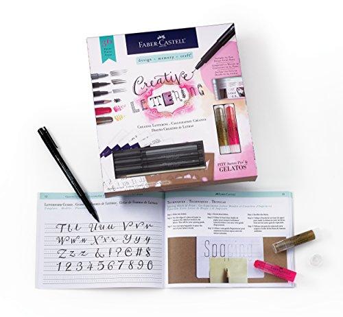 Faber-Castell Creative Lettering Kit - Hand Lettering For Beginners ()