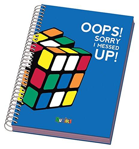 DOHE Rubik:–Quaderno con spirale formato A5, 96fogli, colore: blu 50332