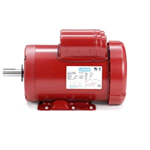 Leeson Farm Duty Electric Motor - 2 HP, 1,725 RPM, 230 Volts, Single Phase, Model Number M6K17FB4