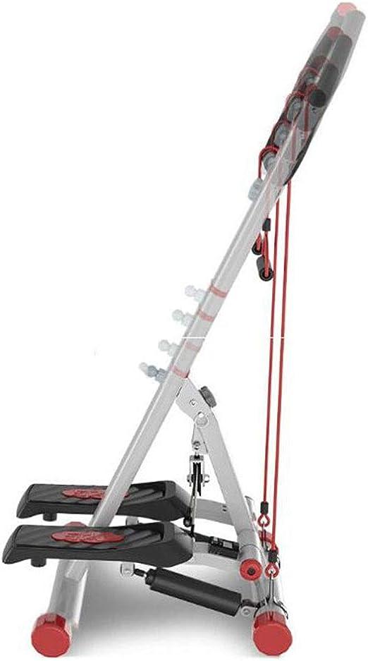 Máquina para perder peso Máquina para perder peso Escalera Equipo para ejercicios escalonados Máquina para ejercicios pequeños pasos Equipo para ejercicios con pasos y escaleras con resistencia: Amazon.es: Deportes y aire libre