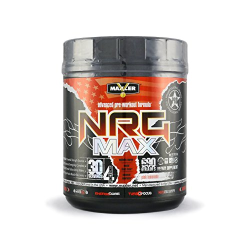 MAXLER NRG MAX, Pink Lemonade, 30 Servings