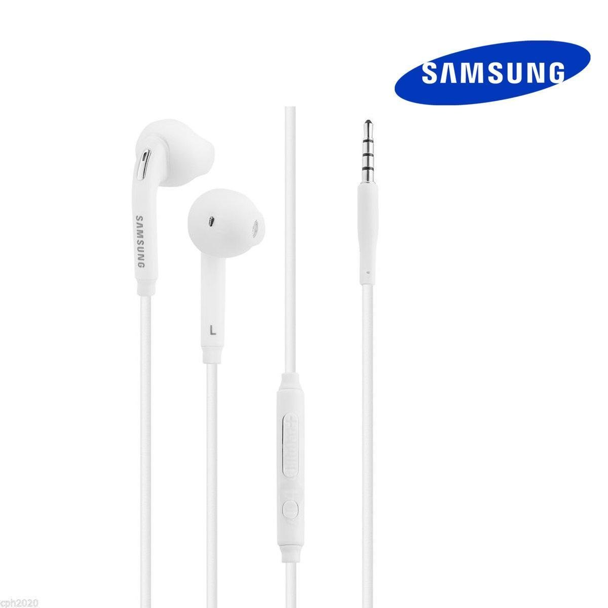 Samsung Wired in-Ear Earbuds Headset with Built-in Microphone for S7 Edge S6 Note (Non-Retail Packaging)