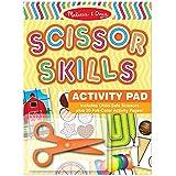 Melissa & Doug Scissor Skills Activity Book With Pair of Child-Safe Scissors (20 Pages)