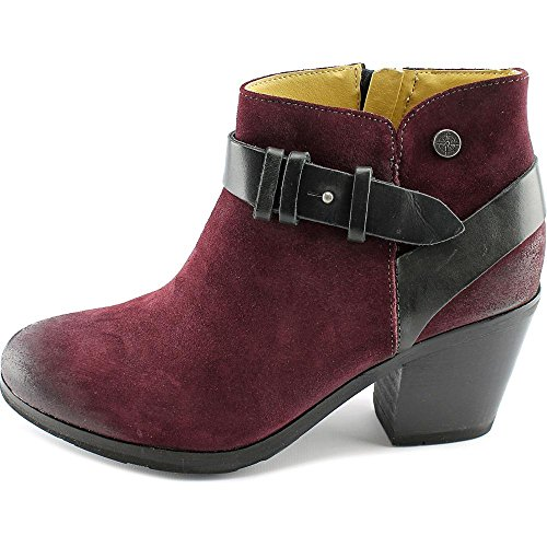Bussola Style Need Vik Women Us 6.5 Burgundy Enkellaars
