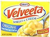Velveeta Shells & Cheese Dinner, 12-Ounce Boxes (Pack of 12)
