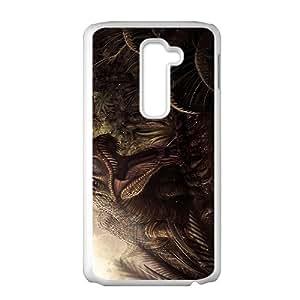 Forest Creative Dinosaur Custom Protective Hard Phone Cae For LG G2