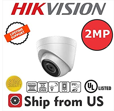 Hikvision DS-2CD1321 2MP IP Dome Camera PoE Lens 2.8mm 30m IR OEM by Hikvision