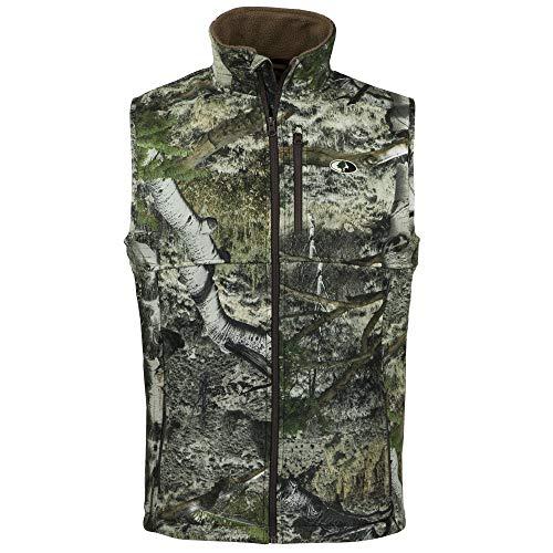Camo fleece vest