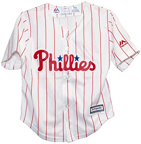 Philadelphia Phillies 2015 Home Cool Base Child Jerseys (Medium (5/6))