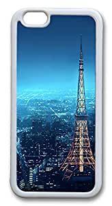 Top iPhone 6 Cases, ACESR Tokyo Skyline Back Cover Case for Apple iPhone 6(4.7inch) TPU White