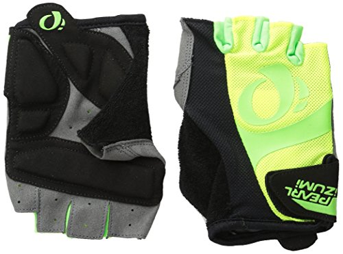 Pearl Izumi - Ride Men's Select Gloves, Screaming Yellow/Screaming Green, Large (Gel Bike Gloves)