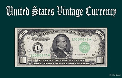 Computer Desktop Mouse Pad Vintage Old U.S. Currency Art 1000 Dollar Bill 1934 Federal Reserve Note