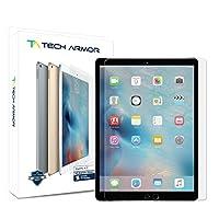 """Tech Armor iPad Pro 9.7 """"(2016/2017) Protector de pantalla de vidrio, vidrio balístico de primera calidad Apple iPad Pro 9.7"""" Protectores de pantalla de pantalla [1]"""