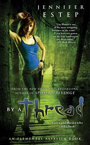 book cover of By a Thread