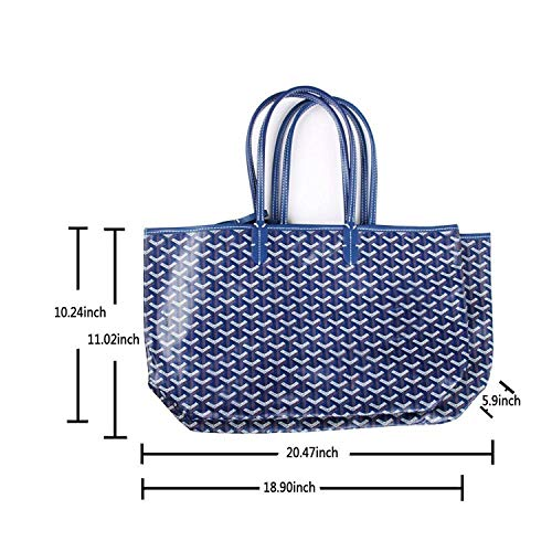 Stylesty Fashion Shopping PU Tote Bag, Designer Shoulder Handbags with Key Ring … (Medium, White1) by Stylesty (Image #5)