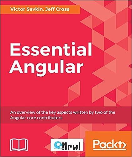 Essential Angular book cover