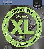 Best D'Addario Bottom Hybrids - D'Addario EPS300 ProSteels Bass Guitar Strings Custom Light Review