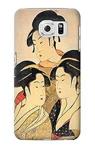 E2272 Japanese Art Three Beauties of the Present Day Funda Carcasa Case para Samsung Galaxy S6 Edge