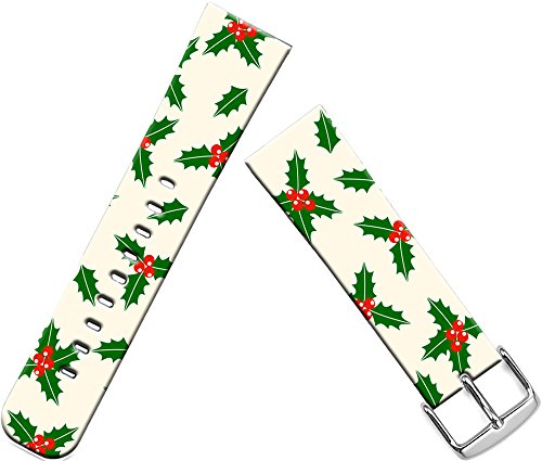 Band for Apple Watch 2 Christmas,Series 1/2/3 Sport & Edition Strap for Apple Watch Compatible Replacement 38mm Christmas Day Xmas Colorful Floral Design Gift
