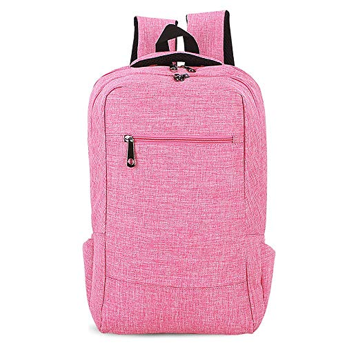 Color Tote School Ybriefbag Backpack Knapsack College Bag Shoulder Purple Lightweight Rucksack Pink Unisex prq8qwRxXv