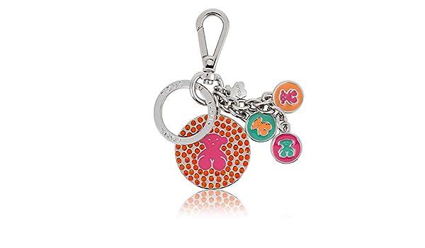 Llavero Bear Medals en Color Naranja-Fuscia: Amazon.es: Equipaje