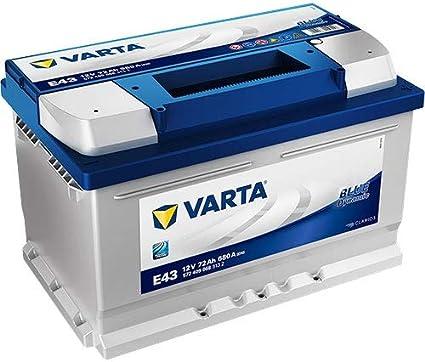Varta E43 Batería De Coche 572 409 068