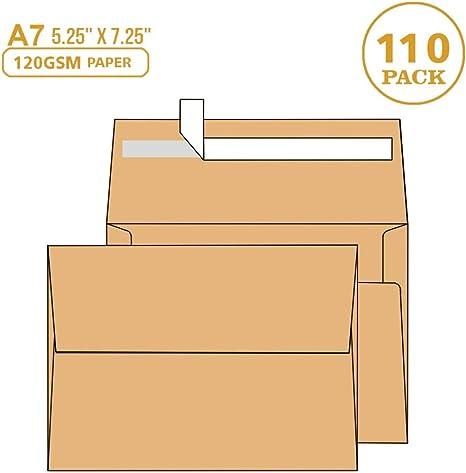 Amazon.com: Sobres de invitación 110 unidades – para ...