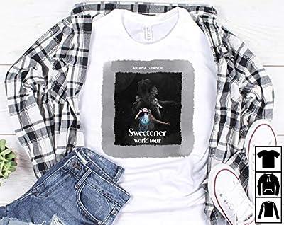 Ariana Grande Tour 2019 T Shirt Ariana Grande Sweetener World Tour 2019 T Shirt Ariana Grande T-Shirt Long T-Shirt Sweatshirt Hoodie