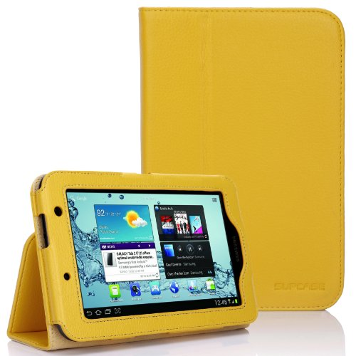 SupCase Slim Fit Folio Leather Tablet Case Cover for 7-In...
