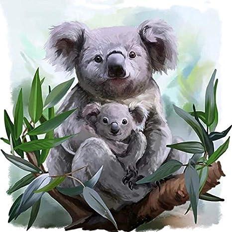 Diamond Painting Animals Diamond Embroidery Koala DIY Full Diamond Home Crafts 5d Square Diamonds