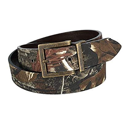 G Bar D Kids RealTree AP HD Camo Print Reversible Belt
