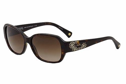 Amazon.com: Coach hc8011b L022 Reese 500113 – Gafas de sol ...