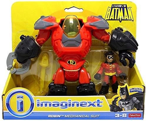 Imaginext Robin & Mechanical Suit Figures DC Superfriends -