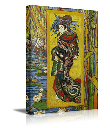 The Courtesan (After Eisen) by Vincent Van Gogh Print