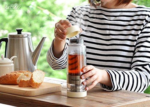 Vitantonio twistea Cream//VTW/-/10 bitantonio tuisutexi tea bottle Infuser